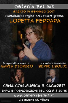 Sabato 14 gennaio 2017 - Loretta Ferrara