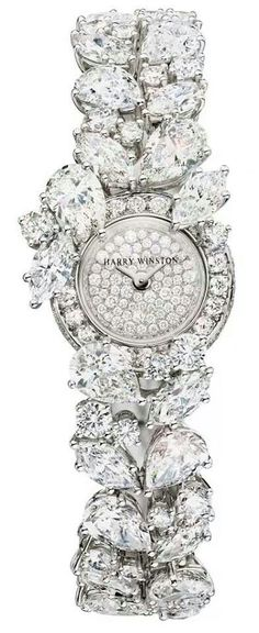 Harry Winston Cluster Diamond watch