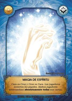 Anverso: Magia de Espíritu / Front side: Spirit Magic. Art by MOTA and Ake Mora