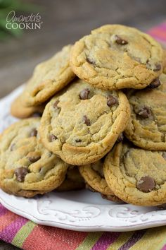 Amazing cinnamon chocolate chip cookies recipe