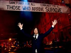Norman Reedus poses at the after party for the premiere screening of AMC Networks' 'The Walking Dead' Season 5 at the Universal Studios Backlot on October 2, 2014 in Universal City, California.