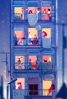 Pascal Campion, Another day, another story. Pascal Campion, Photoshop, City Scene, Urban City, Drawing Tools, Art Inspo, Cool Art, Sketches, Deviantart