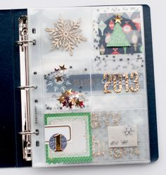 December Daily ... Look. At other pages on her website. Great ideas!