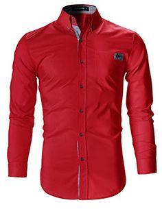 FLATSEVEN Mens Slim Fit Plaid Pointed Casual Dress Shirts... https://www.amazon.com/dp/B01H3ER8UK/ref=cm_sw_r_pi_dp_L3cMxb3MVJXWT