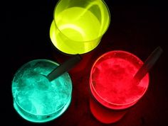 "glow in the dark ""glow"" cones"