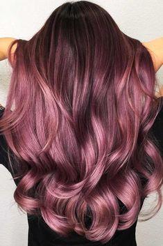 Hair Dye Colors, Cool Hair Color, Magenta Hair Colors, Nice Hair Colors, 2 Tone Hair Color, Trendy Hair Colors, Hair Colour Ideas, Beautiful Hair Color, Red Colour