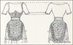 Minoan costume. Our Lady Of The Sports with male loincloth.