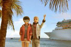 Vintage Barbie and Ken Cruise