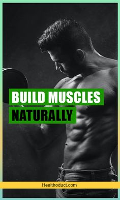 Most of us think that building muscles mean leaning on supplements and steroids. This is because the supplement industry has led us into thinking so. Muscle Mass, Gain Muscle, Build Muscle, Protein For Muscle Growth, Muscle Hypertrophy, Muscular Strength, What Is Science, Growth Hormone