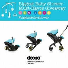 Momma wants! Biggest Baby Shower Must-Haves Giveaway: Doona Car Seat