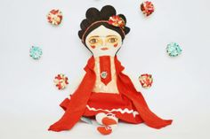 Power Poppets by Melle Dobbins on Etsy