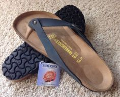 11724 clothing-accessories Birkenstock Adria - 39 Women's 8, Men's 6 - Black - Oiled Leather - New!!!  BUY IT NOW ONLY  $89.99 Birkenstock Adria - 39 Women's 8, Men's 6 - Black - Oiled Leather - New!!!...