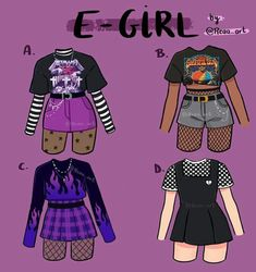Neue Outfits, Edgy Outfits, Teen Fashion Outfits, Retro Outfits, Grunge Outfits, Cute Casual Outfits, Girl Outfits, Fashion Ideas, Kleidung Design