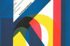 """Massimo Vignelli was as a graphic designer. He also designed furniture, packaging & signs, saying """"If you can design one thing, you can design everything"""". Graphic Design Posters, Graphic Design Inspiration, Typography Design, Graphic Art, Graphic Designers, Typography Poster, Joseph Muller Brockmann, Massimo Vignelli, Swiss Design"""
