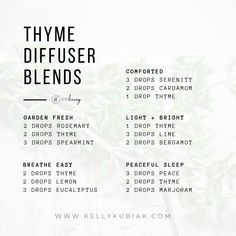 doTERRA Essential Oils Diffuser Blends using Thyme Essential Oil Invisible Causes of Water Damage If Thyme Essential Oil Uses, Essential Oils Guide, Essential Oil Diffuser Blends, Doterra Essential Oils, Diffuser Recipes, Complicated Quotes, Tips, Garden Decorations, Recipes