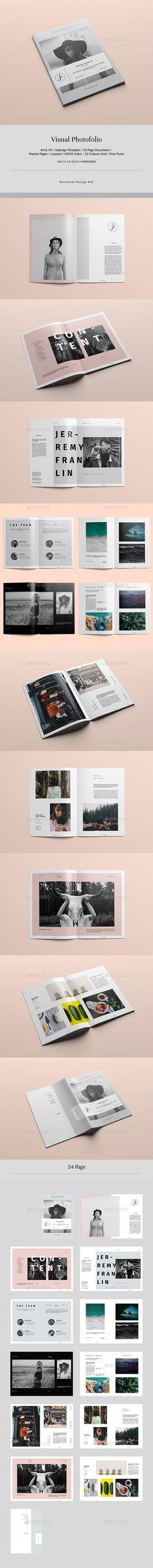 Visual Photofolio - Portfolio Brochures