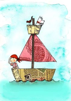 niedlich Children's Illustrations by Vanessa Roeder, via Behance