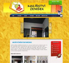 New website for a limner. With SEO optimization and administration. See full site on: http://www.malirstvizenisek.cz/