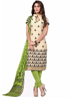 Designer Casual Cotton Embroidery Salwar Suit, 7 Days Easy Return, Buy Designer salwar suit, Embroidery salwar suit, Party Wear salwar kameez, etc..