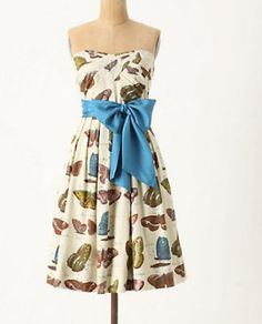 anthropologie by maeve butterfly lepidoptera dress...i am in love.