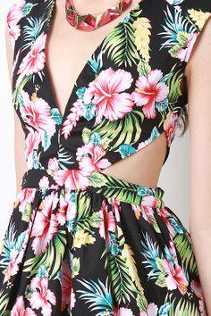 Spring In Maui Dress