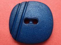 12 KNÖPFE blau 18mm x 18mm (1365-3) Jackenknöpfe