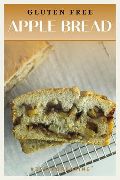 Delicious Gluten Free Apple Pull Apart Bread - Egg Free and Gum Free | Full of yummy cinnamon and apples! #zestforbaking #glutenfreebread #glutenfreerecipes #yeastbread Gluten Free Quick Bread, Gluten Free Flour Mix, Gluten Free Treats, Dairy Free Recipes, Yeast Bread, Bread Baking, Non Dairy Butter, Apple Recipes, Bread Recipes