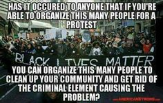 They are NOT willing to do the work it takes to help their own communities....this has been apparent all my life.....so, they need to just shut the hell up....no one takes them serious anymore..