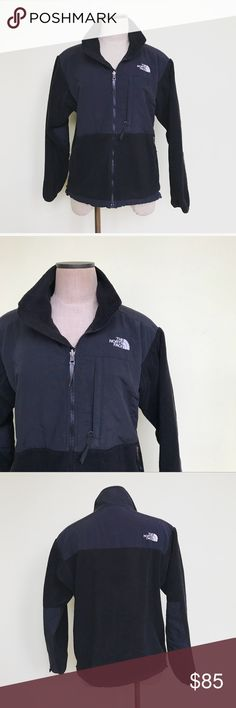 "The North Face Denali Fleece Jacket in Black The North Face Denali Fleece Jacket in Black. Standard  fit. Size medium. Lenght 25"" Bust 20.5"". No trades! The North Face Jackets & Coats"