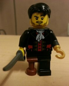 Lego Hook Killian Jones from Once Upon a Time ABC