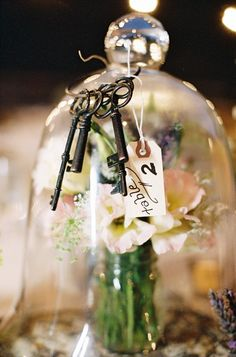 table number tag // photo by Braedon Photography