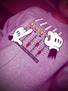 Raves....Techno.....Mickey Mouse. (Must have this shirt)