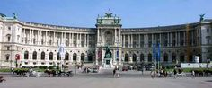 Hofburg Palace. Vienna, Austria. Here, we took a horse and carriage ride around the city. The palace contains 2600 rooms and 19 courtyards.