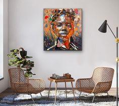 Chris Denovan | Thistle (2020) - available for sale | StateoftheART Sun Painting, Painting Edges, Canvas Size, Oil On Canvas, Contemporary Portrait Artists, Original Paintings, Fine Art, Gallery, Artwork