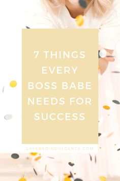 How To Be A Girl Boss In 7 Simple Steps - 7 Things every boss babe needs for success - Layered Indulgence Work Planner, Entrepreneur Inspiration, Secret To Success, Business Tips, Business Coaching, How To Stay Motivated, Make Money Blogging, Bossbabe, How To Start A Blog