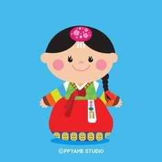 뺨이 한국시리즈 소녀뺨이 _18 #반가워 #나는 #소녀뺨이 라고해 #한국 전통 캐릭터 #소녀 #색동저고리 #꼬까옷 #한복 #경복궁 # 광화문 #디자인 #캐릭터 #일러스트 #chracter #illustration #illust #뺨이 #뺨이스튜디오 #ppyame #pppyamestudio #캐릭터 디자인 - @ppyame_studio Sunbonnet Sue, Princess Peach, Cute Pictures, Minnie Mouse, Disney Characters, Fictional Characters, Korea, Clip Art, Classroom