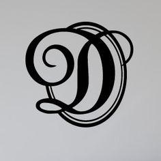 script letter d d for delma pinterest script lettering