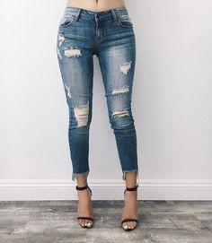 Jenna Distressed Jeans – ootdfash