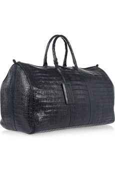 Nancy Gonzalez | Crocodile weekend bag | NET-A-PORTER.COM