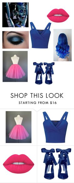 """""""Ballora Sister Location"""" by moonshine16 ❤ liked on Polyvore featuring Miss Selfridge, Freddy, Lime Crime and Alice + Olivia"""