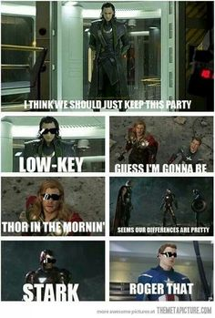haha! avengers + puns = win ;)