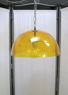 Vintage Mid-Century Modern Acrylic  Dome Shaped Ceiling Lamp,Retro, Home Decor, Lighting,Ceiling Lamp