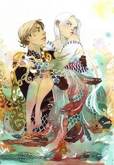 We Need to Talk, by artist tir-ri,   http://tir-ri.deviantart.com/gallery/