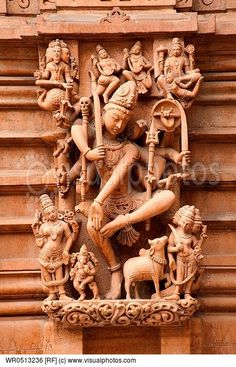 sculpture-of-lord-shiva-and-other-gods-on-the-wall-of-panchasara-parasvanath-jain-temple-patan-gujarat-india.jpg (432×673)