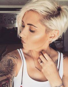 Bronzer contour highlight younique makeup pixie platinum blonde pixie shadow root
