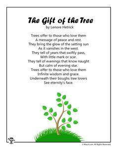 The Gift of the Tree Children's Poetry | Woo! Jr. Kids Activities : Children's Publishing