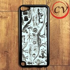 Vintage French Dinosaurs iPod 5 Case