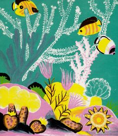Deep Sea Farm written & illustrated by Dahlov Ipcar.