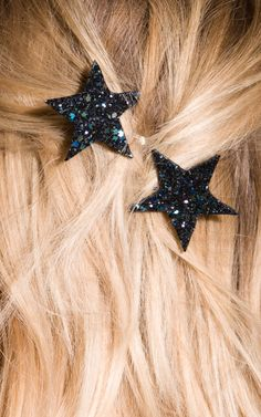 Star Hair Clip Star Bobby Pins Glitter Hair Accessory Party