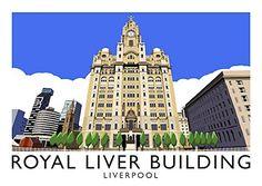 Royal Liver Building, Liverpool Art Print (A3) Chequered ... https://www.amazon.co.uk/dp/B01HOIRBGG/ref=cm_sw_r_pi_dp_QDNCxbNZQNJTC